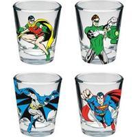 Copos De Tequila Shot Super Heróis Dc Comics