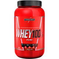 Whey 100% Pure Integralmédica - Chocolate - 907G