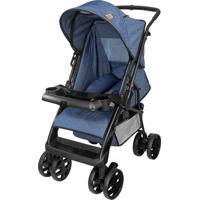 Carrinho De Bebê Reversivel Tutti Baby Jeans