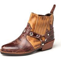 Bota Fran Boots Country Infantil Marrom