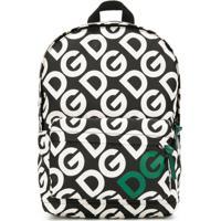 Dolce & Gabbana Kids Mochila Com Logo - Preto