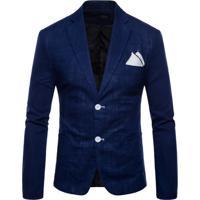 Blazer Masculino - Azul Marinho M