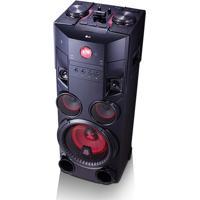 Mini System Torre Lg X Boom Om7560 1000W Rms Com Multi Bluetoothdual Usb E Efeitos Dj – Bivolt