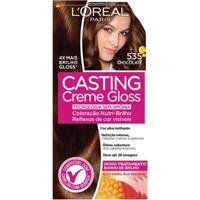 Coloração Casting Creme Gloss L'Oréal Paris 535 Chocolate - Unissex-Incolor