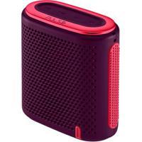 Caixa De Som Pulse Mini Bluetooth/Sd/P2 10W Rms Roxo E Rosa - Sp239 Sp239