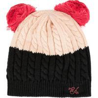 Emporio Armani Kids Emporio Armani Kids 3943449A415 14070 Rosa Chiaro/Blu Natural (Veg)->Cotton