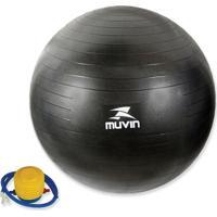 Bola Pilates Fitball Com Bomba Muvin - Unissex