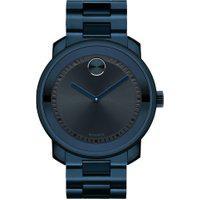 Relógio Movado Masculino Aço Azul - 3600296