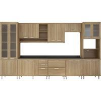 Cozinha Compacta Almafuerte 17 Pt 5 Gv Argila