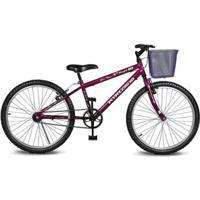 Bicicleta Kyklos Aro 24 Magie Sem Marchas - Unissex