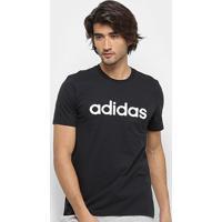 Camiseta Adidas Grfx Lnr T 3 Masculina - Masculino-Preto