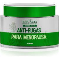Anti-Rugas Para Menopausa - 30 Gramas