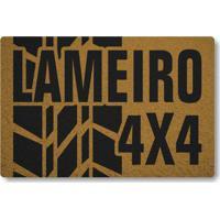 Tapete Capacho Lameiro 4X4 - Ouro