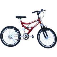 Bicicleta Aro 20 Onix Dupla Susp - Unissex