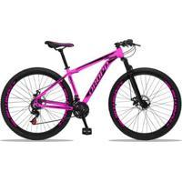 Bicicleta Aro 29 Dropp Aluminum Edição Limitada 21 Marchas Freio A Disco - Unissex