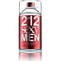 Body Spray Masculino 212 Sexy Men Carolina Herrera 250Ml - Masculino-Incolor