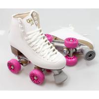 Patins Rye Toy Style Branco Roda Rosa