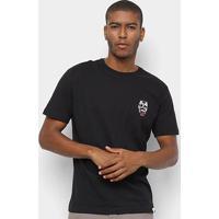 Camiseta Hd Hellwaiian Masculina - Masculino-Preto