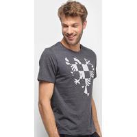 Camiseta Cavalera Checkmate Masculina - Masculino-Preto