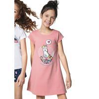 Camisola Infantil Menina Mullet Hering Kids E Cartoon Network