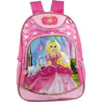 Mochila Princess Sophia 8729982 Rosa