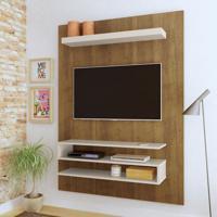 Painel Para Tv Até 47 Polegadas Orion Pinho E Off White
