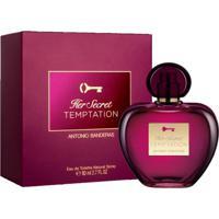 Her Secret Temptation Antonio Banderas Perfume Feminino - Eau De Toilette 50 Ml