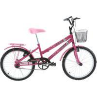 Bicicleta Oxer Cissa - Aro 20 - Freio V-Brake - Feminina - Infantil - Rosa