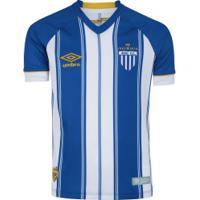 Camisa Do Avaí I 2018 Umbro - Infantil - Azul/Branco