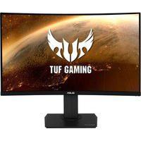 Monitor Gamer Asus Tuf Gaming Lcd 31.5´ Widescreen Curvo, Qhd, Hdmi/Display Port, Som Integrado, 144Hz, 1Ms, Altura Ajustável - Vg32Vq