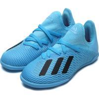 Chuteira Adidas Menino X 19 3 In Jr Azul