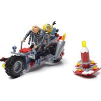 Blocos De Montar - Mega Construx - Meu Malvado Favorito 3 - Moto De Fuga Do Gru - Mattel - Unissex-Incolor