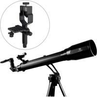 Telescópio Refrator Azimutal 700Mm Greika + Adaptador De Câmeras Fotográficas - Unissex