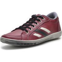 Sapatenis Dr Shoes Vermelho