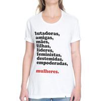 Mulheres - Camiseta Basicona Unissex