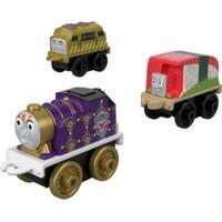 Mini Veículos - Thomas E Seus Amigos - Minis - Queen Belle, Sushi E Bertie - Fisher-Price