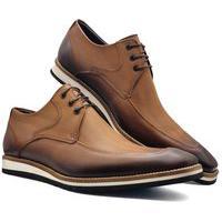 Sapato Social Masculino Oxford Sola De Eva Mod 363Eva Bronze