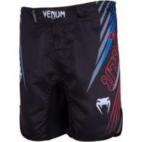 Bermuda Venum Muay Thai Flag Wave Masc - Preto
