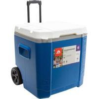 Caixa Térmica Com Rodinha Transform 60Qt Roller - Igloo - Unissex-Azul