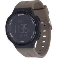 Relógio Digital X Games Xmppd577 - Masculino - Marrom Escuro