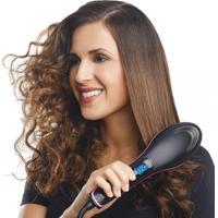 Escova Alisadora De Cabelos Hair Style Automática - Preto Teste
