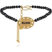 Pulseira Wishes Bless Amarelo Com Espinelio - U