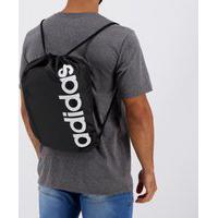 Bolsa De Ginástica Adidas Linear Core Preta
