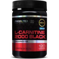 L-Carnitine Black 2000 120 Tabs - Probiótica - Unissex