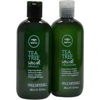 Kit Paul Mitchell Tea Tree Special Sh.300Ml E Condic.300Ml Anticaspa - Unissex-Incolor