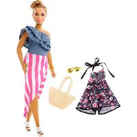 Barbie Fashionistas Puppe Mit Jumpsuit - Mattel