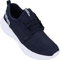 Tênis Skechers Infantil Go Run Fast Valor - Unissex-Azul+Branco