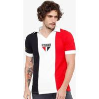 Camisa Retrô São Paulo 1966 Masculina - Masculino