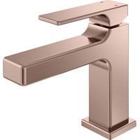 Misturador Monocomando Para Banheiro Mesa Bica Baixa Edge Cobre Escovado - 00849669 - Docol - Docol