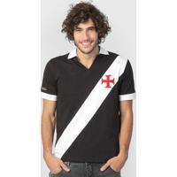 bdfdd862e8949 Netshoes  Camisa Retrô Vasco Expresso Da Vitória Masculina - Masculino
